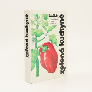 náhled knihy - Zelená kuchyně