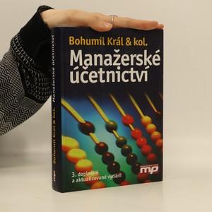 náhled knihy - Manažerské účetnictví (chybí CD)