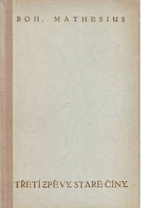 náhled knihy - Třetí zpěvy staré Číny. Parafráze staré čínské poesie