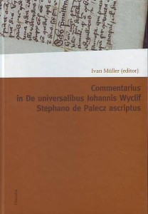 náhled knihy - Commentarius in De iniversalibus lohannis Wyclif Stephano de Palecz ascriptus