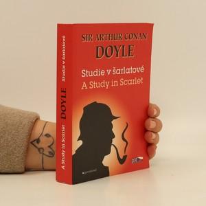 náhled knihy - A Study in Scarlet / Studie v šarlatové