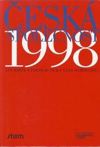 náhled knihy - Česká společnost 1998