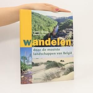 náhled knihy - Wandelen : door de mooiste landschappen van België (pravděpodobně podpis jednoho z autorů)
