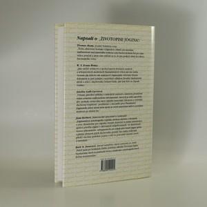 antikvární kniha Životopis jógina, 1995