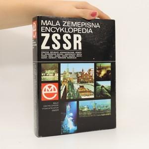 náhled knihy - Malá zemepisná encyklopédia ZSSR