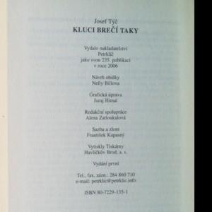 antikvární kniha Kluci brečí taky, 2006