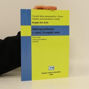 náhled knihy - Subregionalismus v rámci Evropské unie