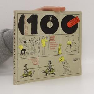 náhled knihy - 100 ilustrovaných přísloví v češtině, ruštině, němčině, angličtině, francouzštině, španělštině a latině