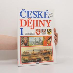 náhled knihy - České dějiny I