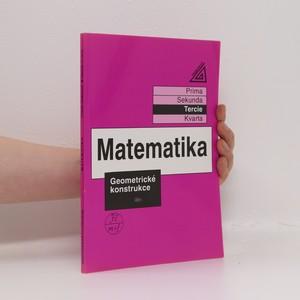 náhled knihy - Matematika. Tercie. Geometrické konstrukce
