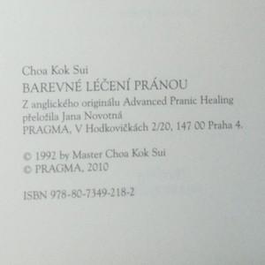 antikvární kniha Barevné léčení pránou. Energetický léčebný systém a barevné prány, neuveden