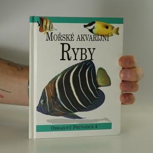 náhled knihy - Mořské akvarijní ryby