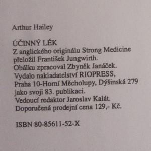 antikvární kniha Účinný lék, 1995