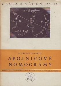 náhled knihy - Spojnicové nomogramy