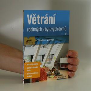 náhled knihy - Větrání rodinných a bytových domů