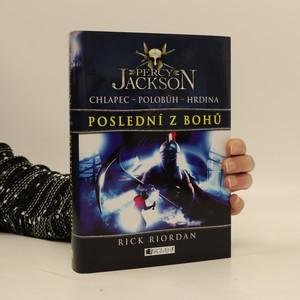 náhled knihy - Percy Jackson. Poslední z bohů
