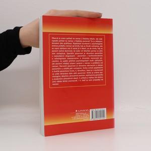 antikvární kniha Psychologie nemoci, 2002