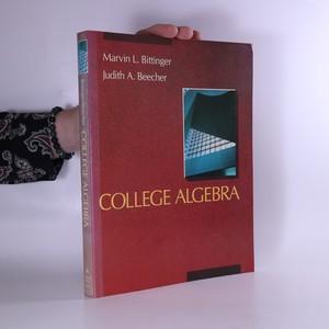 náhled knihy - College algebra