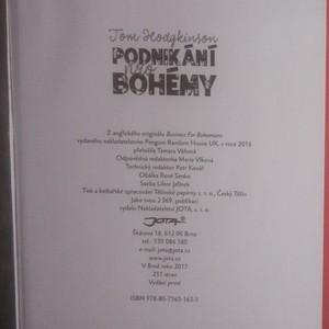 antikvární kniha Podnikání pro bohémy, 2017