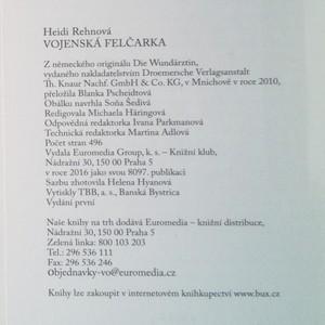 antikvární kniha Vojenská felčarka, 2016