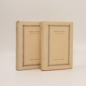 náhled knihy - Dombey a syn. I-II. díl (dva svazky, komplet)