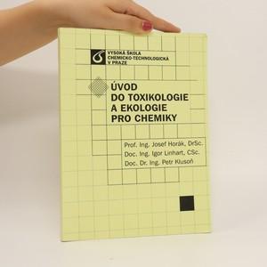 náhled knihy - Úvod do toxikologie a ekologie pro chemiky