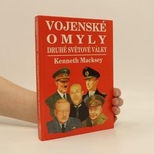 náhled knihy - Vojenské omyly druhé světové války
