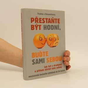 náhled knihy - Přestaňte být hodní, buďte sami sebou