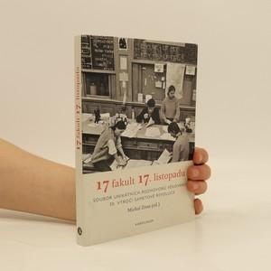 náhled knihy - 17 fakult 17. listopadu