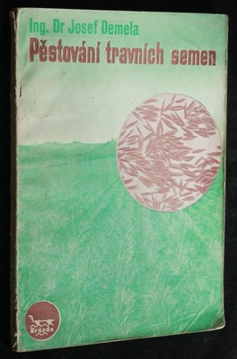 náhled knihy - Praktické pěstování travních semen