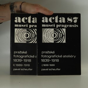 náhled knihy - Acta musei pragensis (87-88, 2 svazky viz foto)