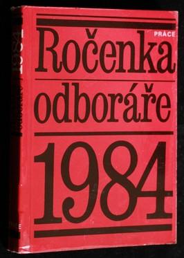 náhled knihy - Ročenka odboráře. 1984