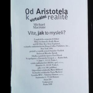 antikvární kniha Od Aristotela k virtuální realitě. Víte, jak to mysleli?, 1999