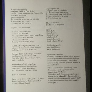 antikvární kniha Zbavte se bolesti - Průvodce novými i tradičními metodami mírnění a léčby bolesti, 2002
