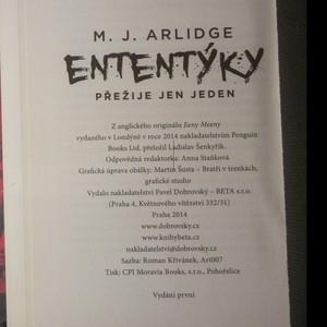antikvární kniha Ententýky : přežije jen jeden , 2014