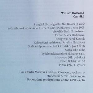 antikvární kniha Čas vlků : cesta do Srdce krajiny, 1997