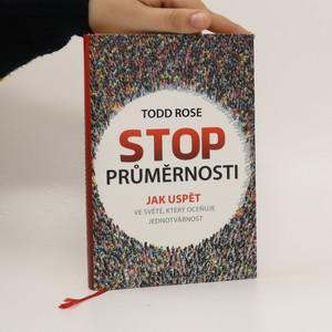 náhled knihy - Stop průměrnosti