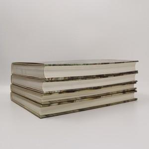 antikvární kniha Dějiny českého výtvarného umění 1. a 2. díl (4 svazky, viz foto), 1984