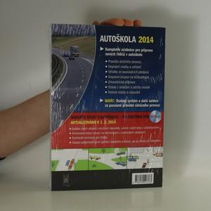 antikvární kniha Autoškola 2014 : Učebnice nejen pro autoškoly, neuveden