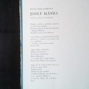antikvární kniha Josef Mánes : malíř vzorků a ornamentu, 1981