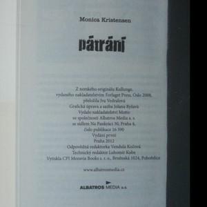 antikvární kniha Pátrání, 2012