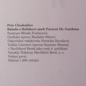 antikvární kniha Balada o Bobíkovi, aneb, Pacient Dr. Gordona, 1998