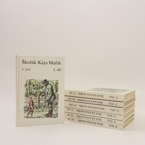 náhled knihy - Školák Kája Mařík I.-VII. díl (7 svazků, komplet)
