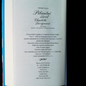 antikvární kniha Pikantní život Charlotte Lavigneové. Díl druhý, Bublinky v šampaňském a smetanové karamelky, 2014
