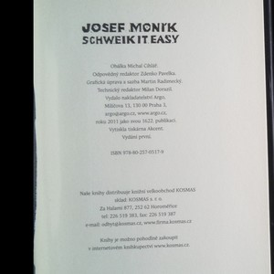 antikvární kniha Schweik it easy, 2011