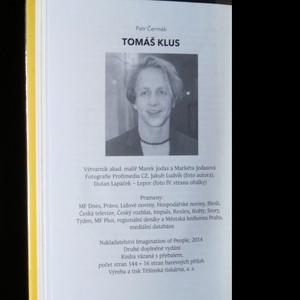 antikvární kniha Tomáš Klus, 2014
