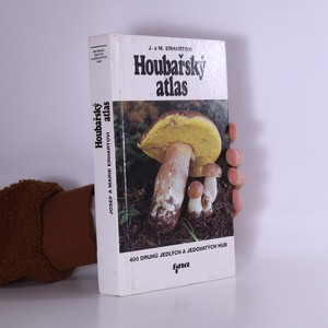 náhled knihy - Houbařský atlas : 400 druhů jedlých a jedovatých hub