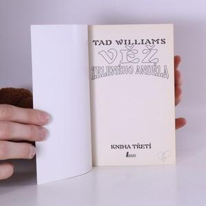 antikvární kniha Věž Zeleného anděla. Kniha třetí, 1999
