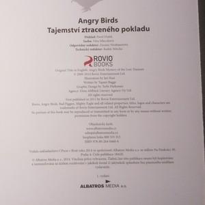 antikvární kniha Angry Birds. Tajemství ztraceného pokladu, 2014