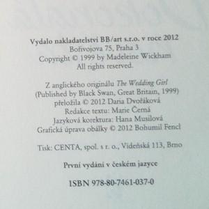 antikvární kniha Dokonalá nevěsta, 2012